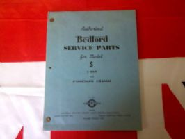 AUTHORISED SERVICE PARTS FOR BEDFORD TRUCK S MODEL BOOK